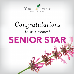 A new level with Young Living…