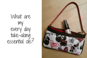 What's in my every day essential oils bag?