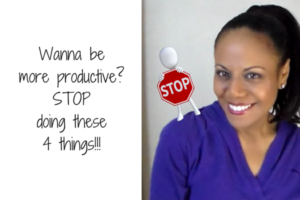 How to be more productive…