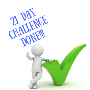 21 Day Challenge: Final days and a wrap up!
